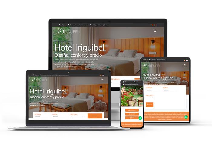 Página web de empresa en Pamplona