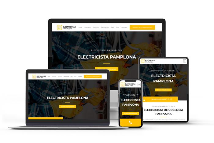 Webs para ordenador y móvil en Pamplona